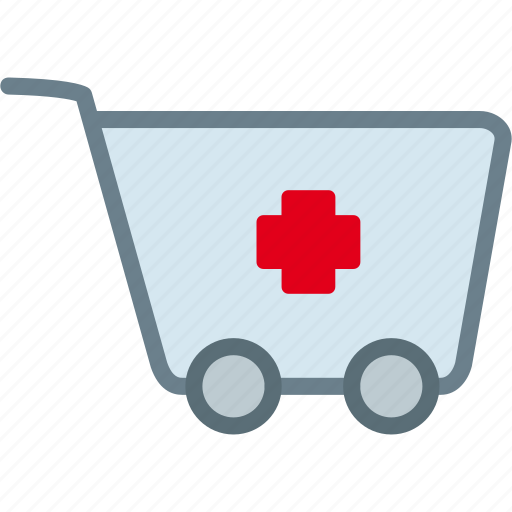 cart, drug, medication, medicine, pharmacy, pills icon