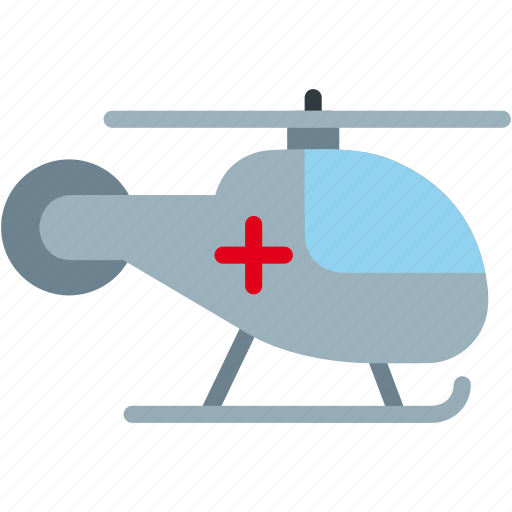 aid, emergency, healthcare, helicopter, medical icon