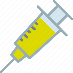 doctor, injection, syringe, treatment, vaccination icon
