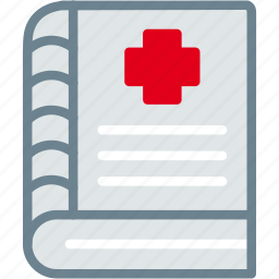 book, medical, notes, report icon