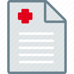 clipboard, diagnosis, medical, paper, prescription, report icon