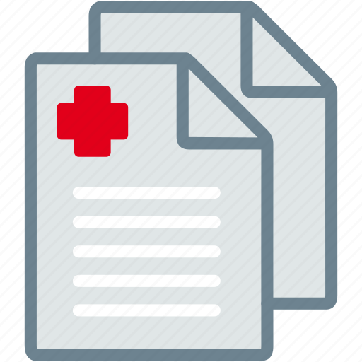 clipboard, diagnosis, medical, papers, prescription, report icon
