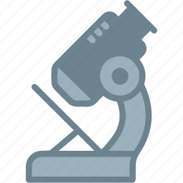 biology, laboratory, microscope, research, science icon