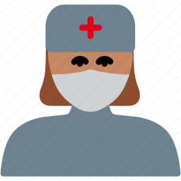 healthcare, hospital, medical, nurse, women icon