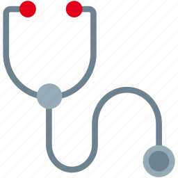 cardiac, diagnosis, doctor, hospital, medical, pulse, stethoscope icon