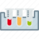 blood, lab, medicine, science, testing, tubes icon