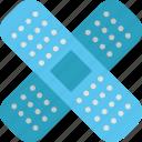 bandage, healthcare, medical, medicine, patch, plaster, treatment icon