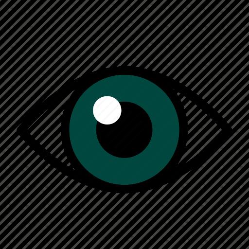 eye, ic, medical, scan icon