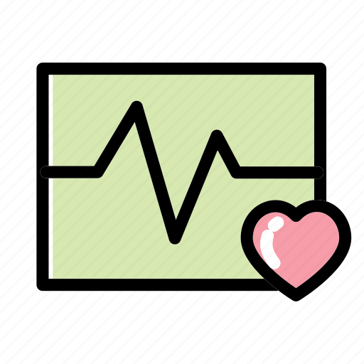 heart, ic, medical, rate icon