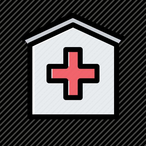 clinic, hospital, ic, medical icon