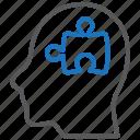 logic, mental health, psychiatry icon