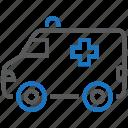 ambulance, emergency, rescue icon