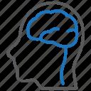 brain, psychiatry, psychology icon