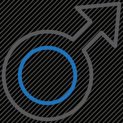 Gender, male, sex icon - Download on Iconfinder