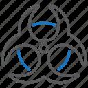 biohazard, biohazards, biological hazard icon