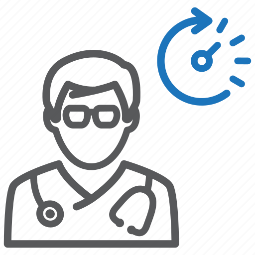 doctor, medical consultation, medical help icon