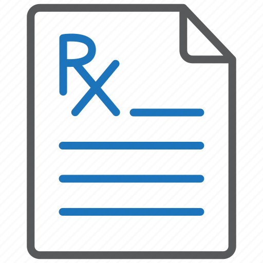 medicine, pharmacy, prescription icon