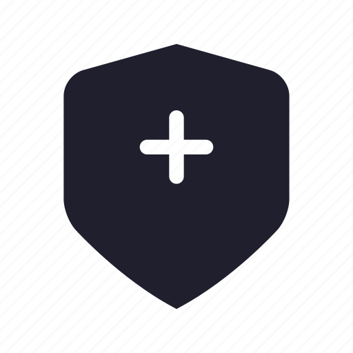health, healthcare, hospital, physician, protect, seurity, shield icon