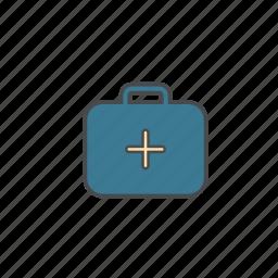 aid, bag, doctor, emergency, hospital, medical icon