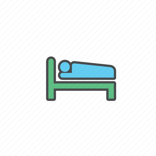 bed, clinic, healthcare, hospital, medical, treatment icon