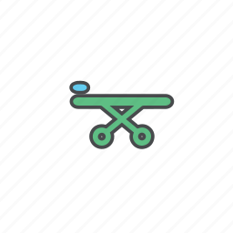 ambulance, clinic, hospital, rescue, stretcher icon
