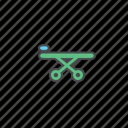 ambulance, clinic, hospital, rescue, stretcher icon