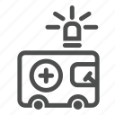 aid, ambulance, car, health, help, hospital, transport icon