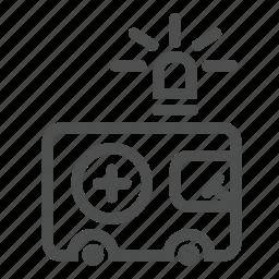 aid, ambulance, car, health, help, hospital, transport icon