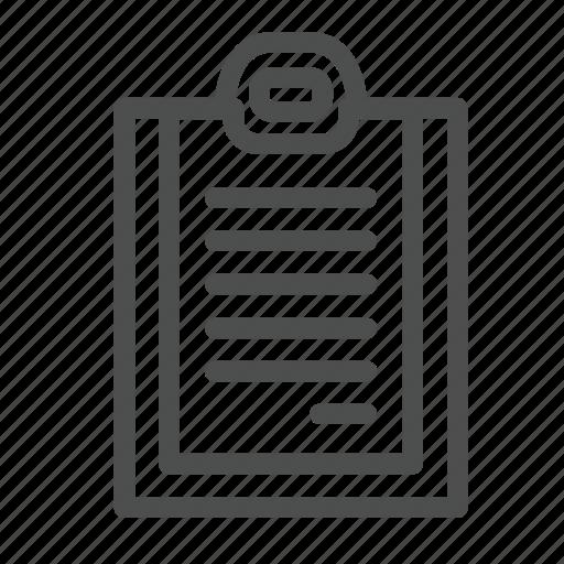 doctor, document, file, folder, hospital, notes, nurse icon