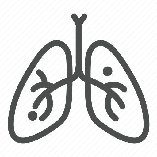 body, doctor, hospital, lungs, organ, part, surgery icon