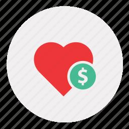 cash, dollar, donate, donation, finance, health, healthcare, medical, medicine, money icon