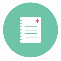 document, documents, file, format, journal, medical record, page, paper, sheet, text icon