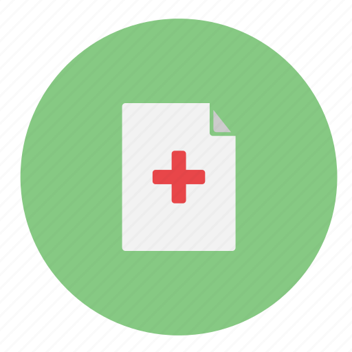 doctor, document, documents, file, files, format, health, healthcare, hospital, journal, medical record, medicine, page, paper, sheet, text, wealth icon