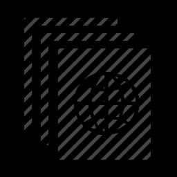 document, online icon