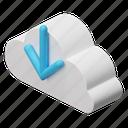 cloud, data, storage, database, upload