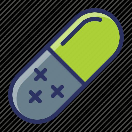 capsule, drugs, medical, medicine, pills icon