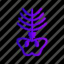 bone, lcd, ray, skeleton, x, xray icon
