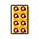 drugs, lcd, medicine, pills, tablets icon