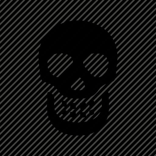 anatomy, head, medical, skeleton, skull icon
