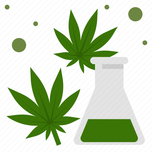 cannabis, cbd, extraction, laboratory, medical, science, test icon