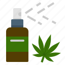 cannabis, dispenser, medical, mouth, spray, usage