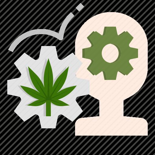 Alert, cannabis, creative, energy, marijuana, sativa icon - Download on Iconfinder