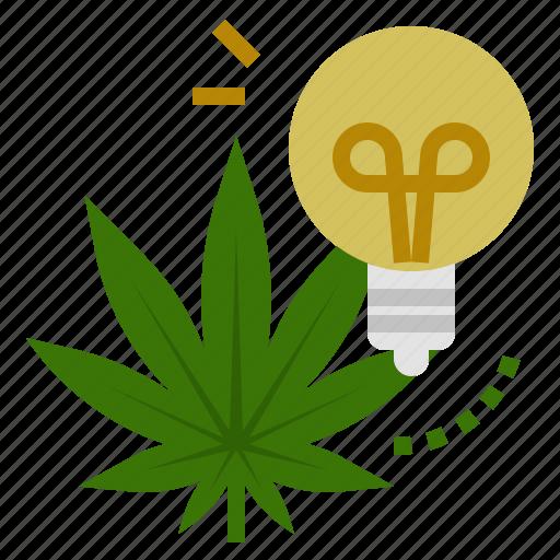 Cannabis, creative, energy, idea, marijuana, sativa, weed icon - Download on Iconfinder