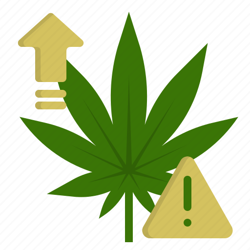 Caution, danger, effect, marijuana, medical, overdose, side icon - Download on Iconfinder