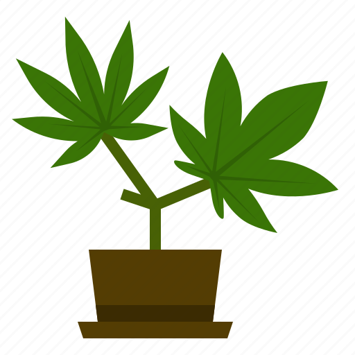 cannabis, hemp, leaf, marijuana, nature, plant, weed icon