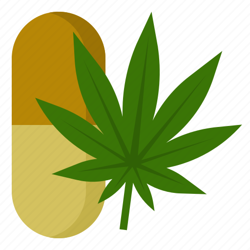 Cannabis, capsule, drug, marijuana, medical, medicine icon - Download on Iconfinder