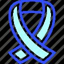 health, hiv, hospital, medic, medical, ribbon icon