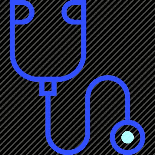 health, hospital, medic, medical, stethoscope icon
