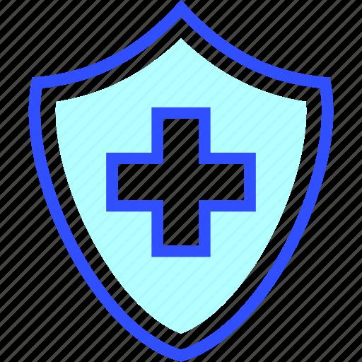 health, hospital, medic, medical, protection, safe icon