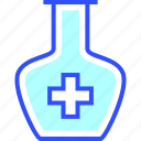 health, hospital, medic, medical, potion, syrup icon